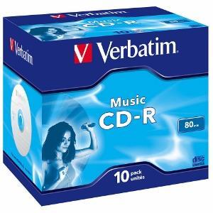 Verbatim Music CD-R CD-R 700MB 10Stck(e) (43365) matricas
