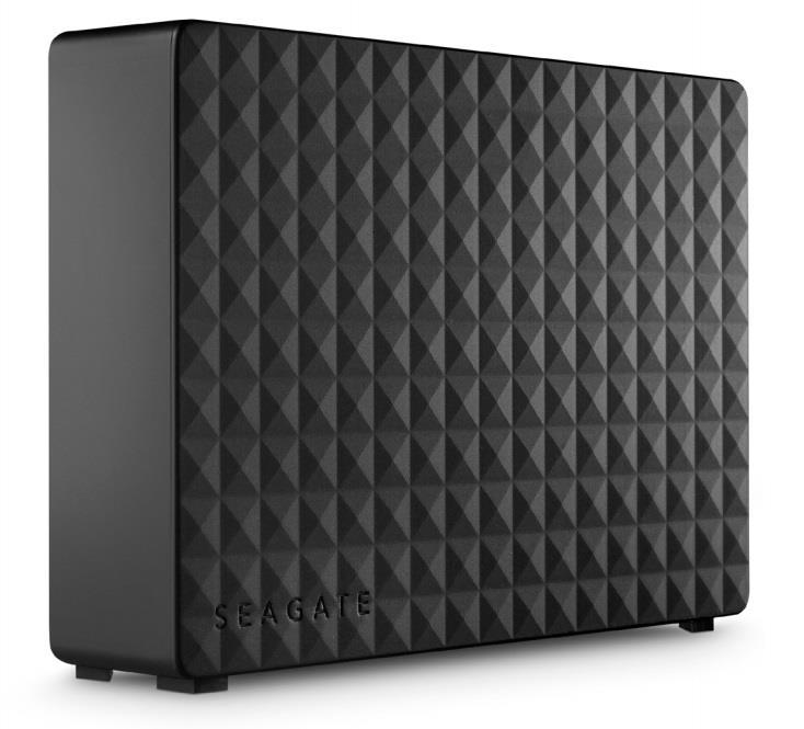 Seagate Expansion 3.5'' 3TB USB3, Black Ārējais cietais disks