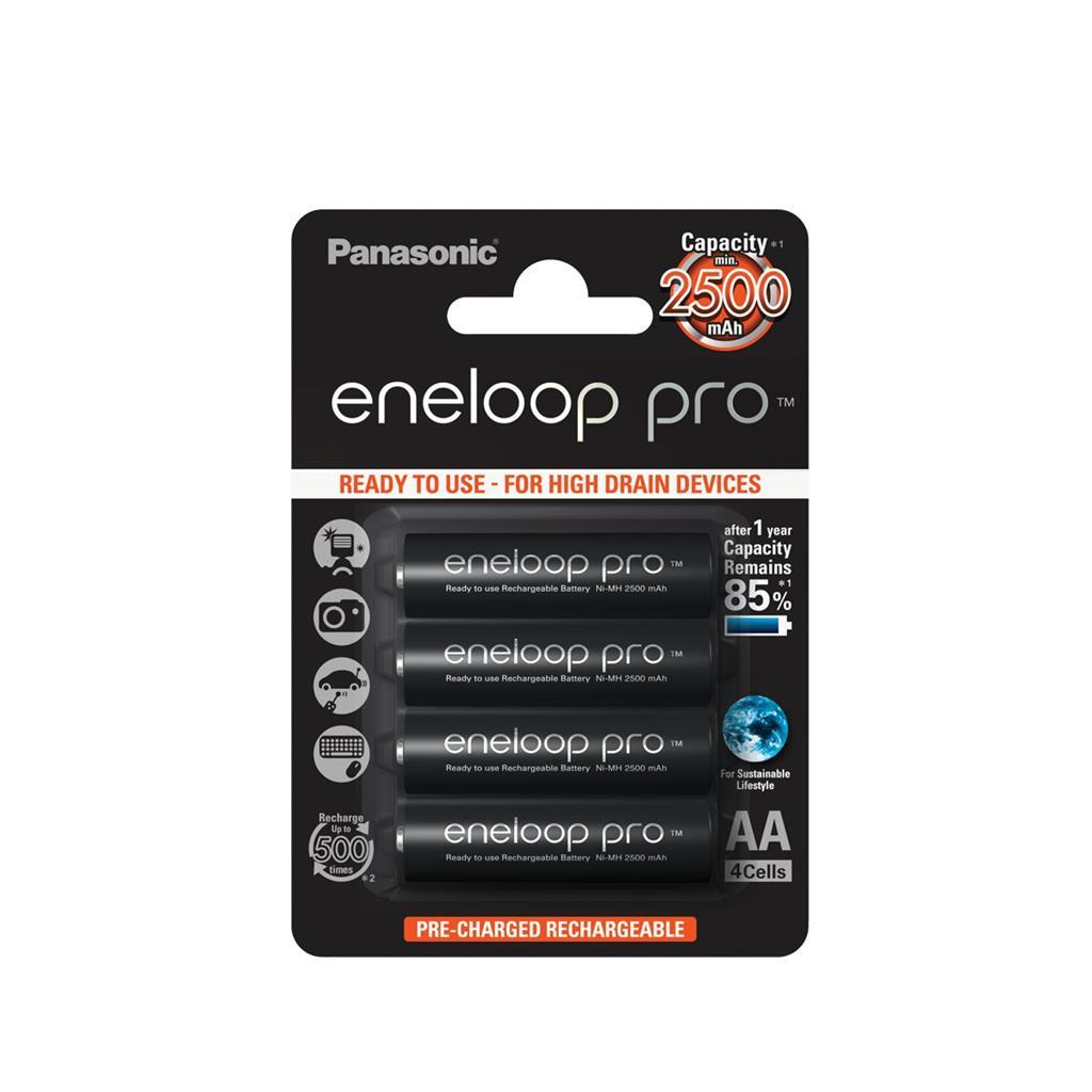 Panasonic Eneloop Pro R6/AA 2500mAh, 4 Pcs, Blister Baterija