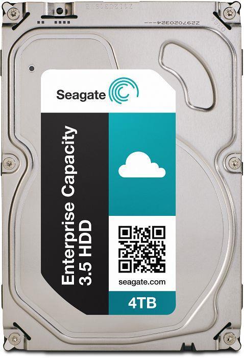 Seagate Enterprise Capacity HDD, 3.5'', 4TB, SATA/600, 7200RPM, 128MB cache cietais disks
