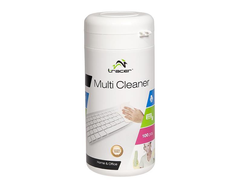 Multi Cleaner Tissues Tracer in a tube 100pcs biroja tehnikas aksesuāri