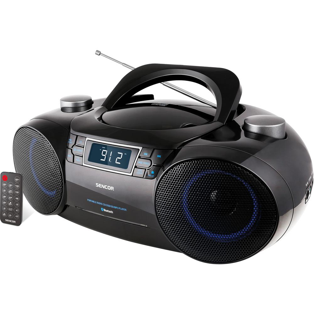 Sencor Boombox CD/MP3/USB SENCOR SPT 4700 radio, radiopulksteņi