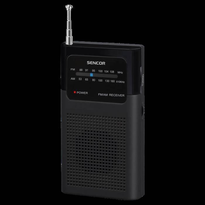 Kabatas radiouztvērējs Sencor SRD 1100 B radio, radiopulksteņi