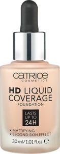 Catrice HD Liquid Coverage liquid foundation 010 Light Beige 30ml tonālais krēms