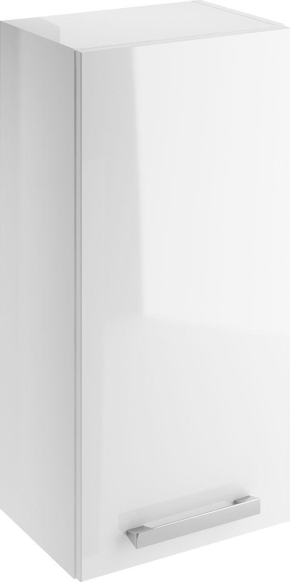 Cersanit Top cabinet Melar 35cm white gloss (S614-005)