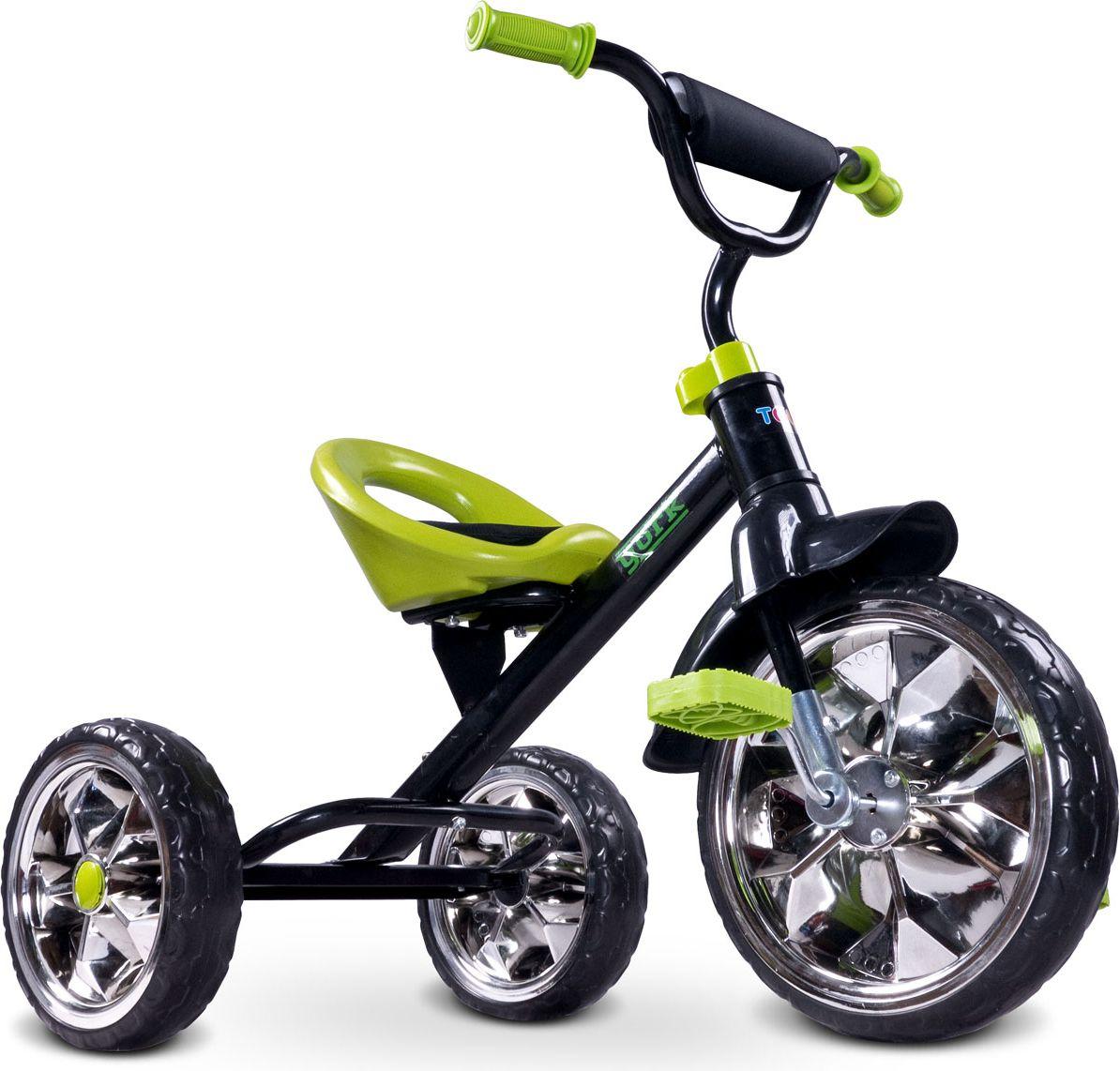 Caretero YORK 3-WHEEL BIKE Green bērnu ratiņi