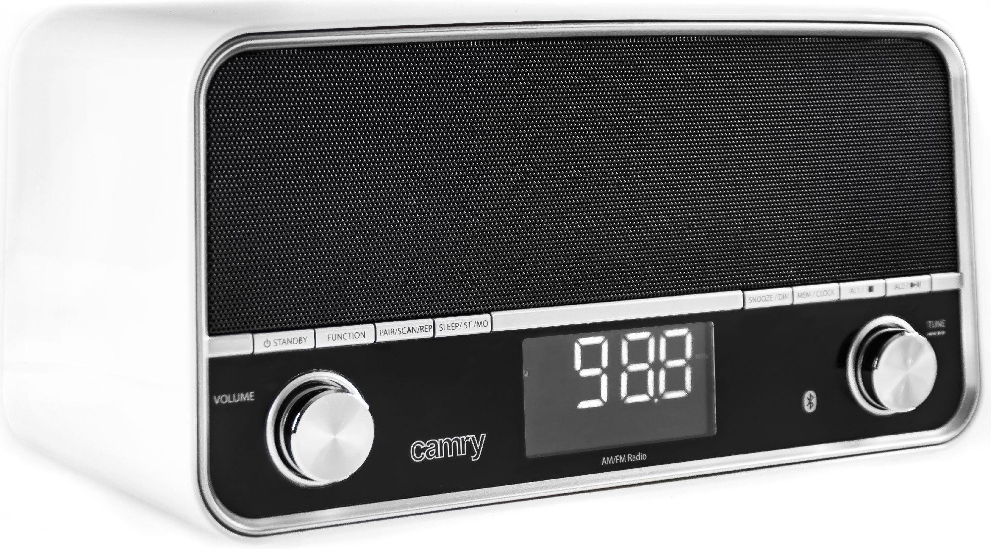 CAMRY Radio with USB    white CR1151W magnetola