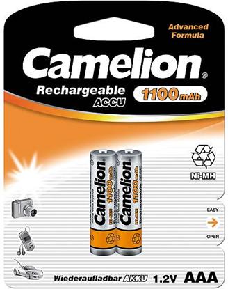Camelion Rechargeable Batteries Ni-MH 2x AAA (R03) 1100mAh Baterija