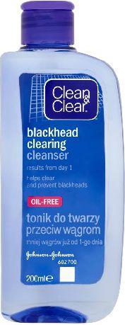 Clean & Clear Cleansing facial lotion against blackhead 200ml