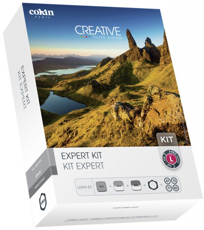 Cokin U3H4-22 Expert Kit inkl. Filterhalter foto objektīvu blende
