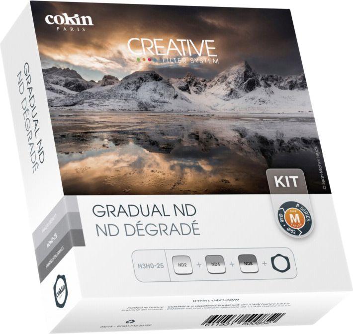 Cokin H3H0-25 Gradual ND Filter Kit inkl. Filterhalter foto objektīvu blende
