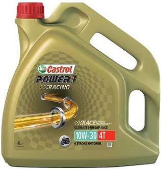Olej silnikowy Castrol Power 1 Racing polsyntetyczny 10W-30 4L 10W30 RACING 4T 4L motoreļļa