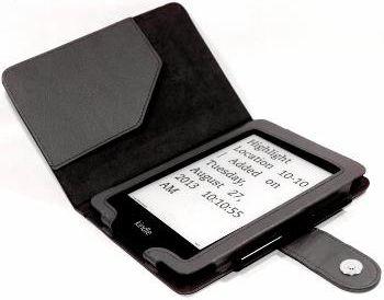 C-TECH PROTECT Case for Kindle PAPERWHITE with WAKE/SLEEP function, black Elektroniskais grāmatu lasītājs