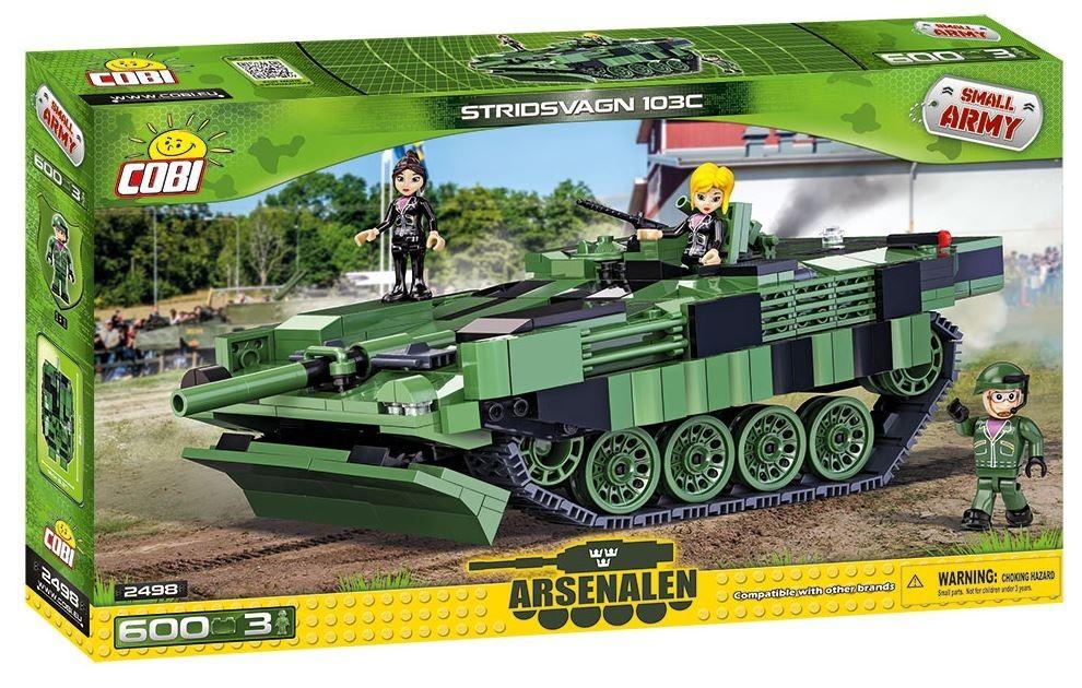 Cobi SMALL ARMY STR 103C S-Tank Arsenale (COBI-2498) konstruktors
