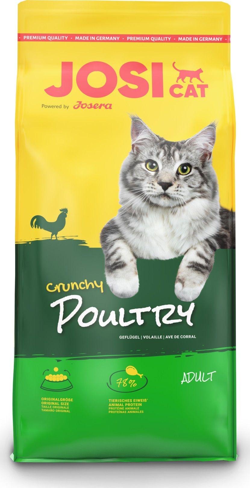 JOSERA Dry cat food Crunchy Poultry 18 kg kaķu barība