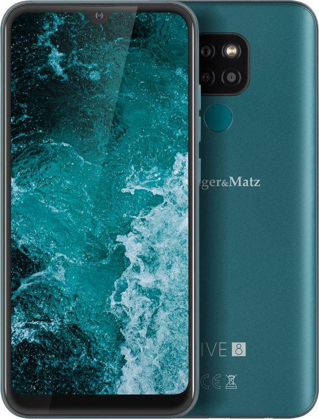 Smartfon Kruger&Matz  Live 8 64 GB Dual SIM Zielony  (KM0494-DG) KM0494-DG Mobilais Telefons