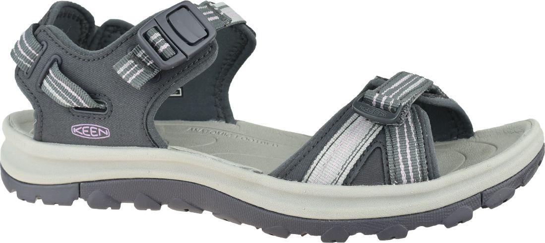 Keen Women's Sandals Wm's Terradora II Open Toe gray size 39 (1022448)