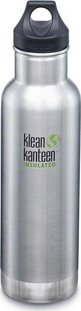 klean kanteen Insulated Classic Water Bottle 1000571 Capacity 0.592 L, Brushed stainless steel 763332037723 Matrači un tūrisma paklāji
