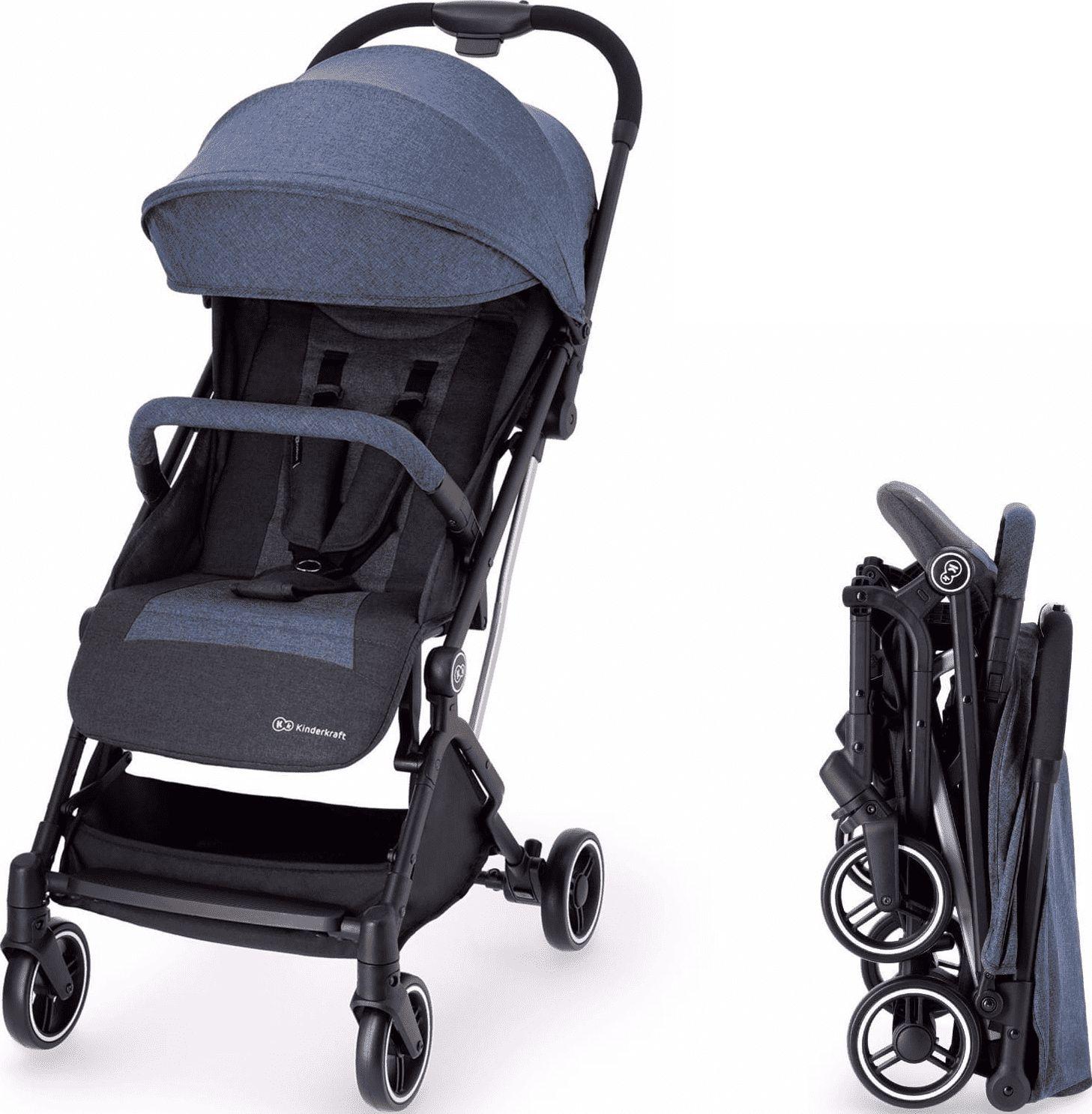 KinderKraft INDY Denim stroller bērnu ratiņi