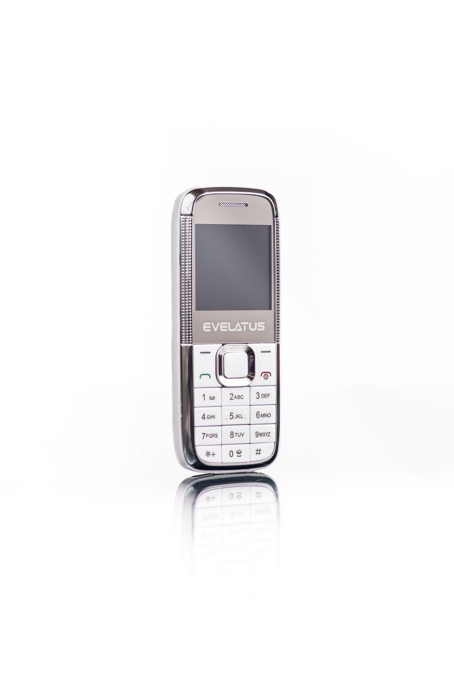 Evelatus  Mini DS (EM01) White White EM01WHT Mobilais Telefons