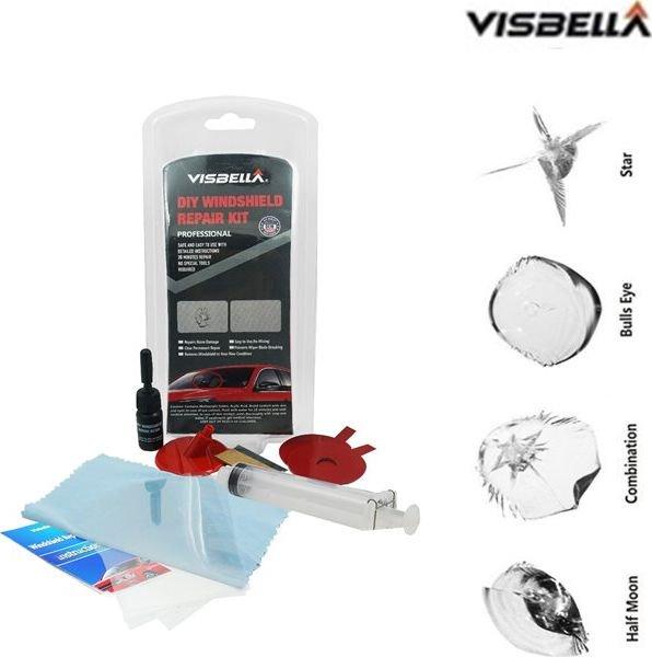 VISBELLA DIY Car Windshield Glass Repair Damage Kit Windscreen Restore Fix auto kopšanai