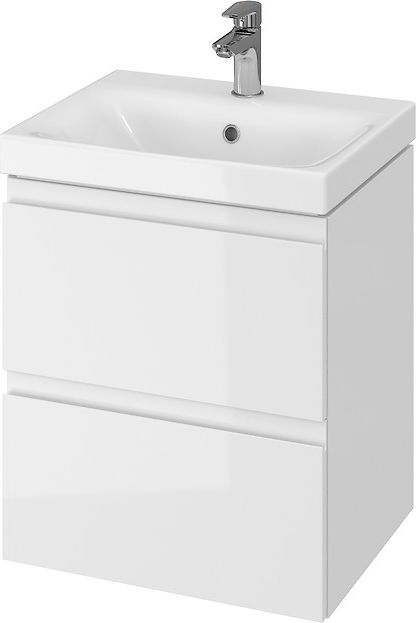 Set of cabinet with Cersanit Moduo 50cm white wash basin (S801-230)