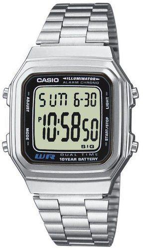 Casio watch sport watch silver (A178WEA-1AES) Rokas pulksteņi