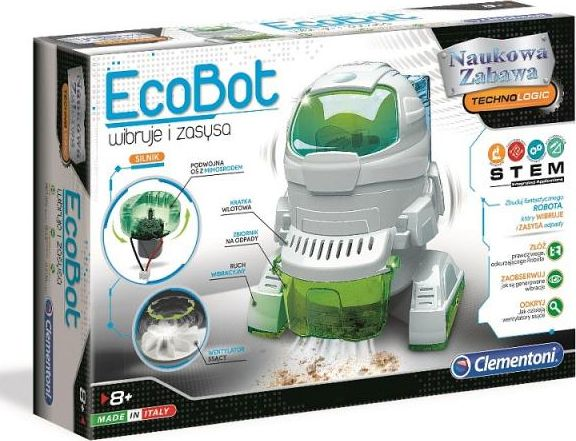 Clementoni Scientific Fun. Ecobot