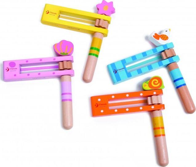 ClassicWorld Instrumenty muzyczne Kastaniety Classic World 6927049005138
