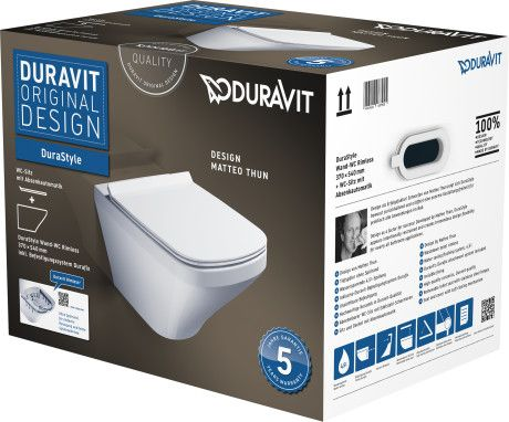 Duravit DuraStyle Rimless hanging (45510900A1)
