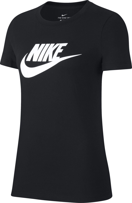 Nike Koszulka damskie Nsw Tee Essentl Icon Future czarna r. M (BV6169-010) BV6169 010