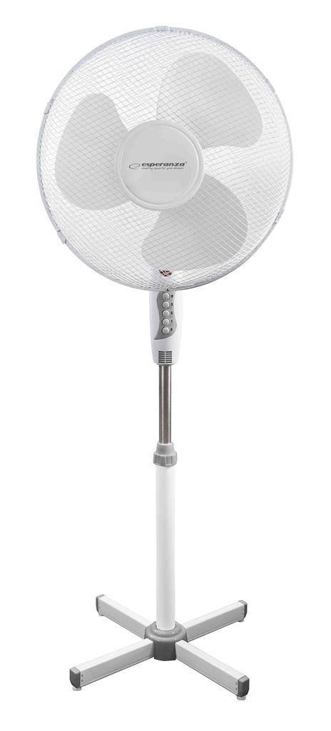 Esperanza EHF001WW 40cm grīdas ventilators, 50W White Klimata iekārta