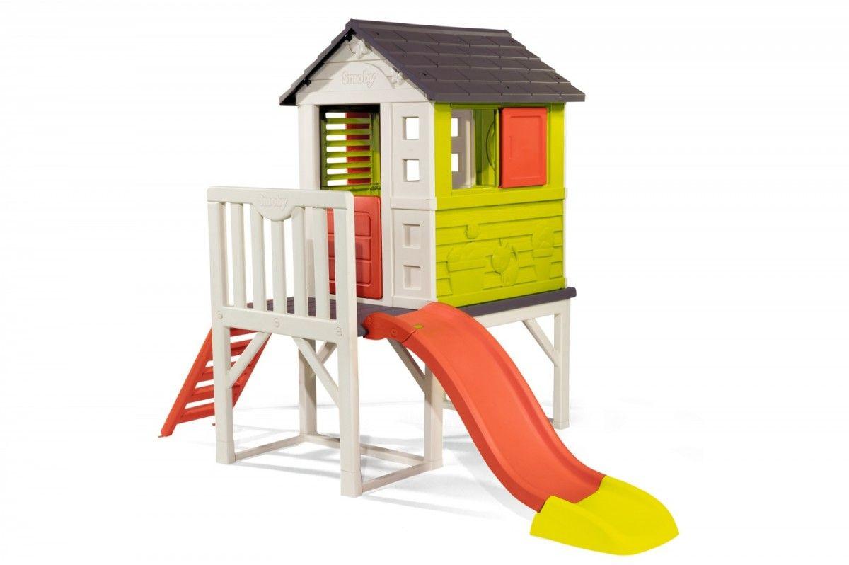 Smoby Stilt House Rotaļu mājas un slidkalniņi