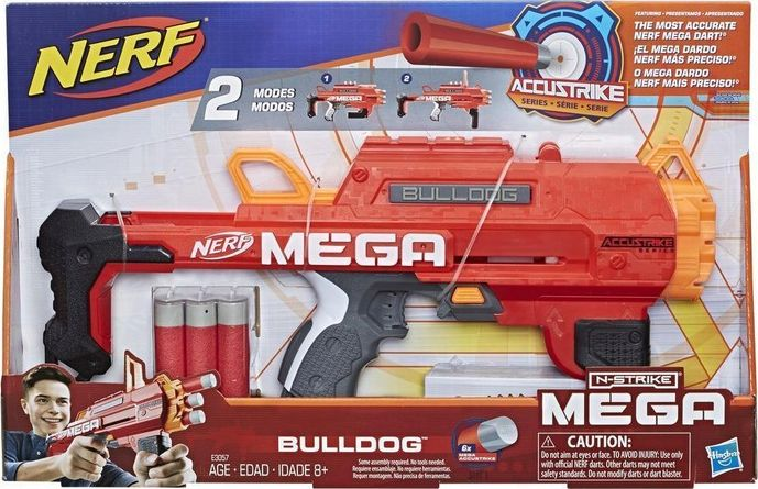 Nerf Mega Bulldog Launcher (E3057) Rotaļu ieroči