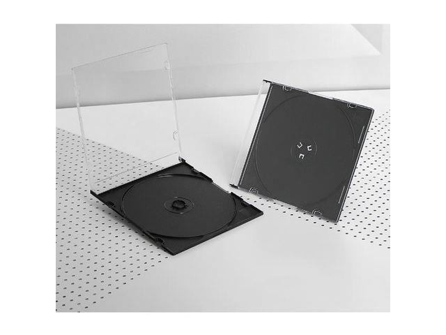 Intenso Slim case CD black inside 200 pieces