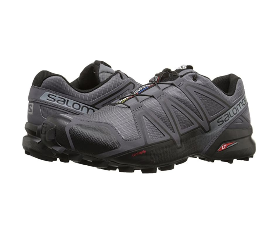 Salomon Buty meskie Speedcross 4 Dark Cloud/Black/Pearl Grey r. 46 (392253) Tūrisma apavi