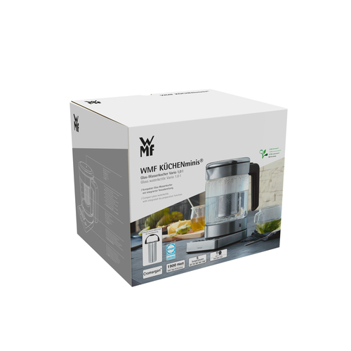WMF Kitchenminis Glass Elektriskā Tējkanna