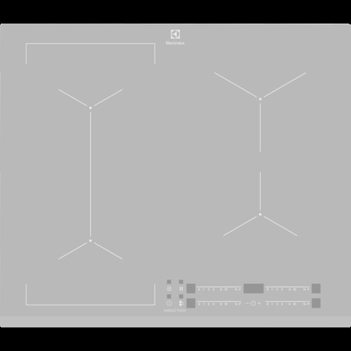 Electrolux indukcijas plīts virsma EIV63440BS plīts virsma
