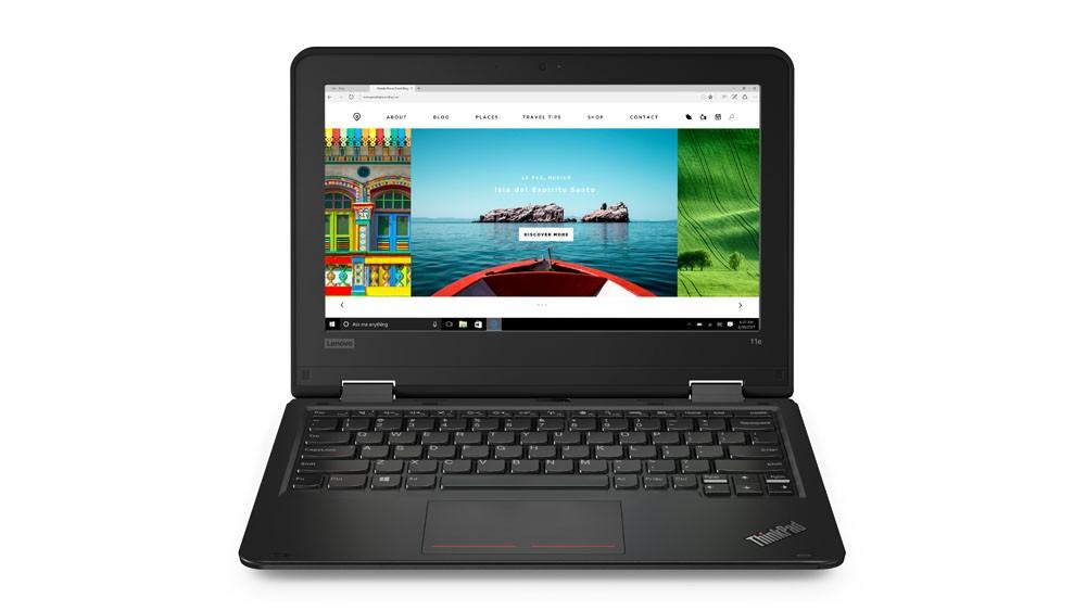 ThinkPad 11e 20LQ0000PB W10Home N4100/4GB/128GB/11.6 HD/1YRS CI Portatīvais dators
