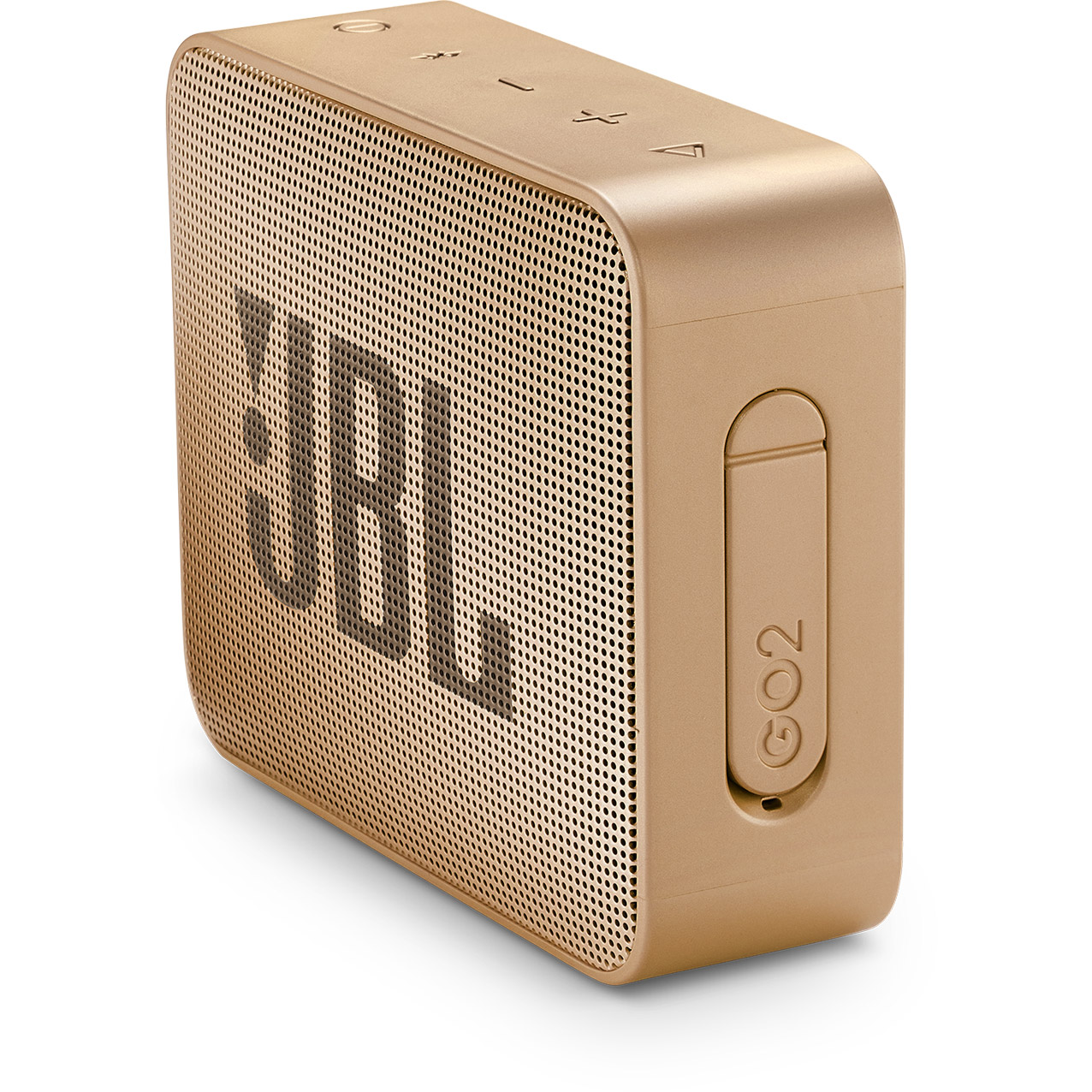 JBL Go 2, compact portable speaker with battery, IPX7 waterproof, Champagne pārnēsājamais skaļrunis