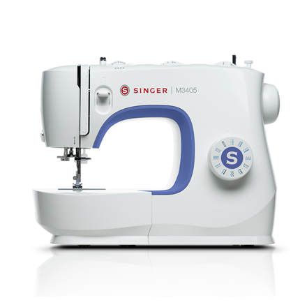 Singer Sewing Machine M3405 Number of stitches 23, Number of buttonholes 1, White 7393033102784 Šujmašīnas