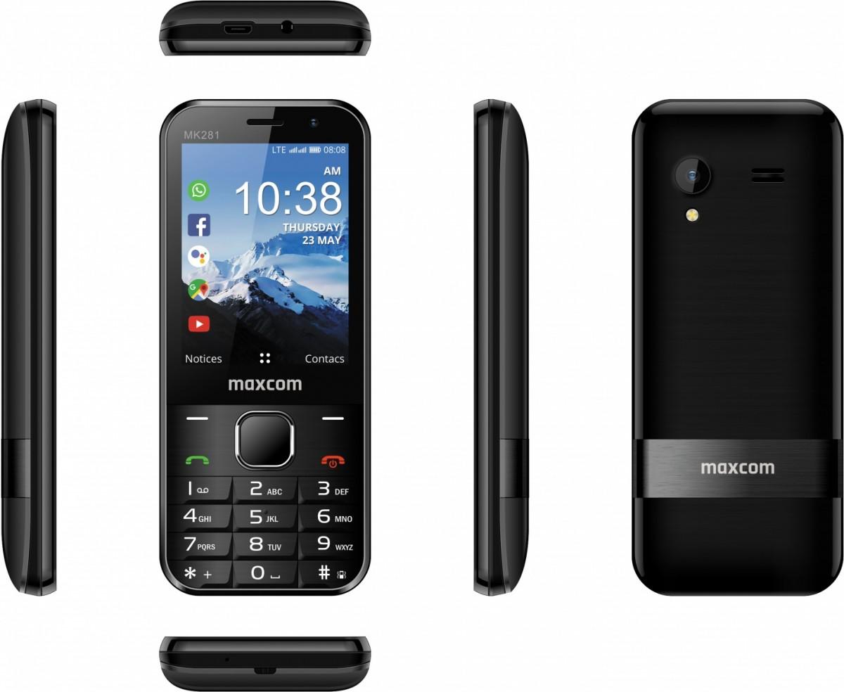 Smart Feature Phone MaxCom MK281 4G VoLTE Mobilais Telefons