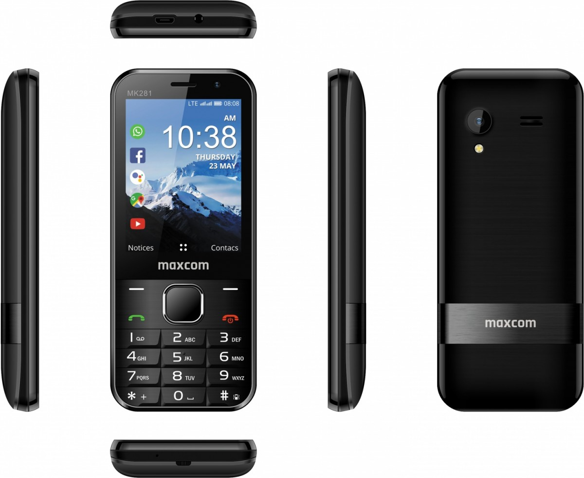 Smart Feature Phone MaxCom MK281 4G VoLTE MAXCOMMK281 Mobilais Telefons