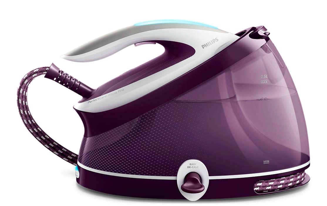 PHILIPS Perfect Care AquaPro tvaika ģeneratora gludeklis (violets) GC9315/30 Gludeklis