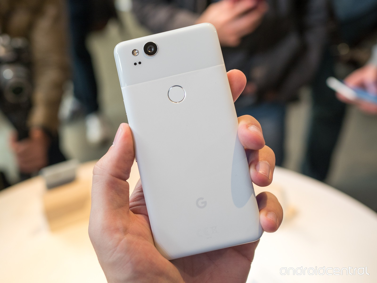 Google Pixel 2 128GB - Clearly White Mobilais Telefons