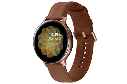 Samsung Galaxy Watch Active 2 Stainless Steel 44mm Gold Viedais pulkstenis, smartwatch