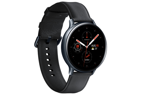 Samsung Galaxy Watch Active 2 Stainless Steel 44mm Black Viedais pulkstenis, smartwatch
