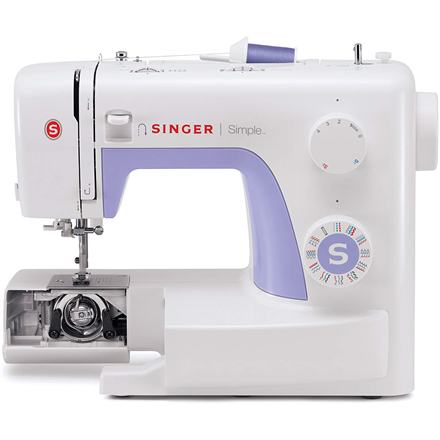 Singer Sewing Machine Simple 3232 Number of stitches 32, Number of buttonholes 1, White Šujmašīnas