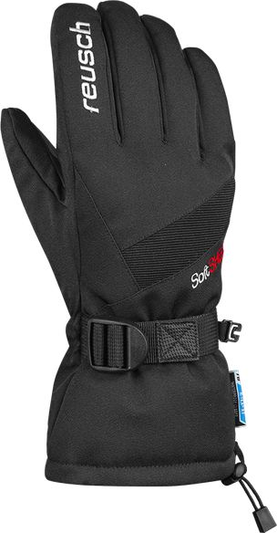 REUSCH Outset R-Tex Xt ski gloves, black, size 8 cimdi