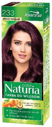 Joanna Naturia Color Farba do wlosow nr 233-gleboki burgund  150 g 525233